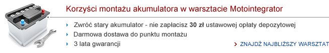 Zwrot akumulatorow
